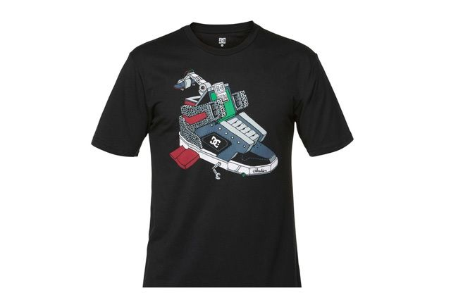 Ghica Popa For Dc Shoes Tshirt Series 4