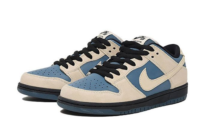 Nike Sb Dunk Low Pro Cream Blue 2