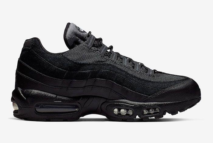 Nike Air Max 95 Essential Triple Black At9865 001 Release Date 2 Side