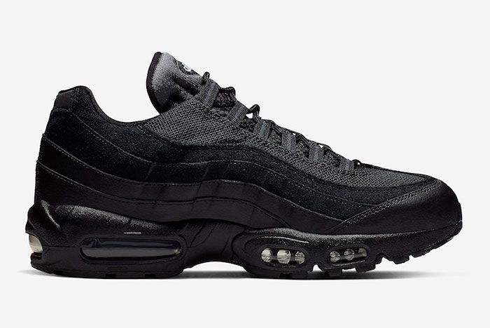 Nike Air Max 95 Essential Triple Black At9865 001 Release Date 2 Side