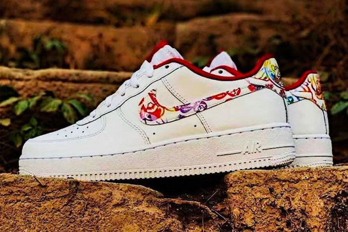 Nike Air Force 1 Chinese New Year 2020 Left