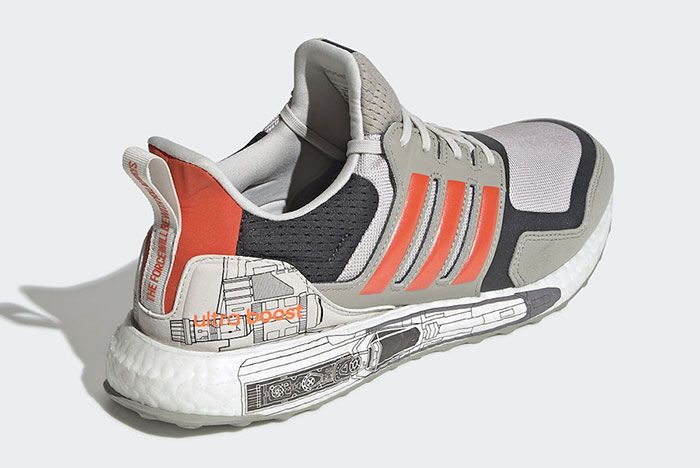 Star Wars Adidas Ultra Boost X Wing Release Date 1 Angle