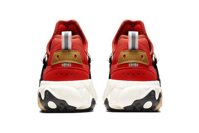 Nike React Presto Tomato Tornado Av2605 600 Release Date Heel