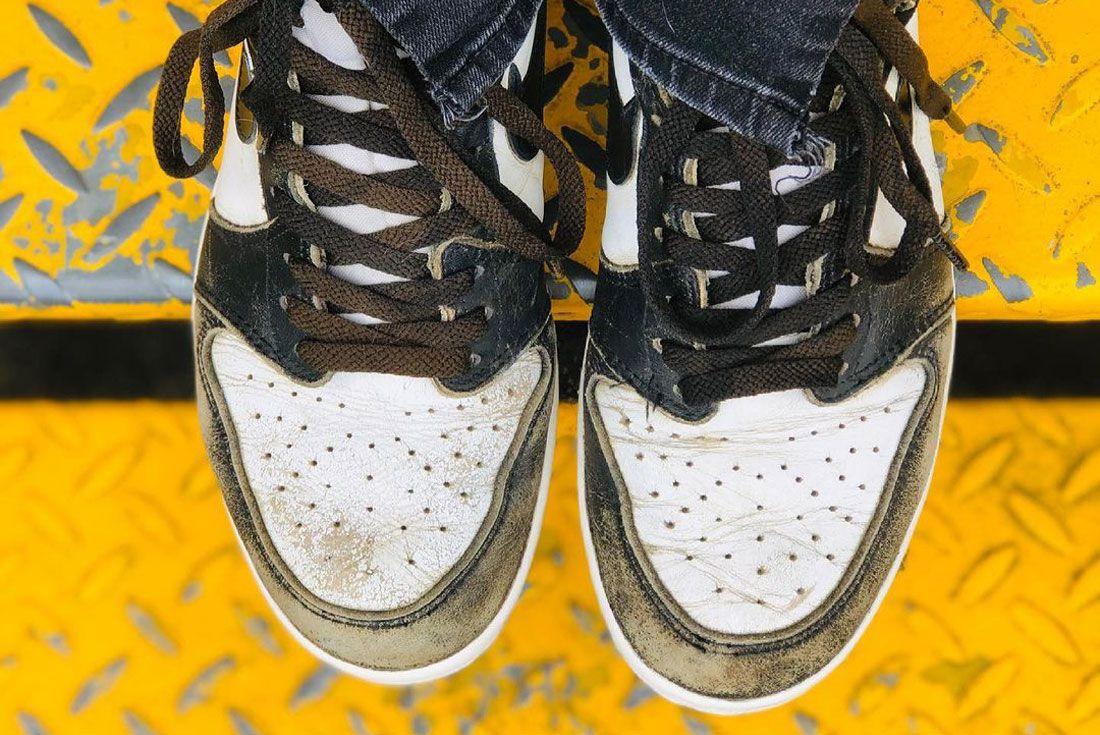 Air Jordan 1 1985 Creased