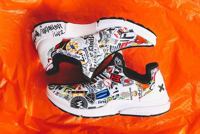 Nike Presto Custom Logo 2