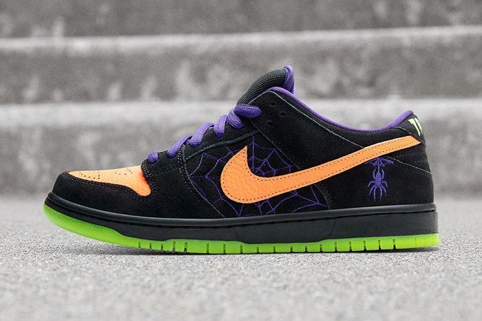 Nike Sb Dunk Low Night Of Mischief Halloween 2019 Release Date Lateral