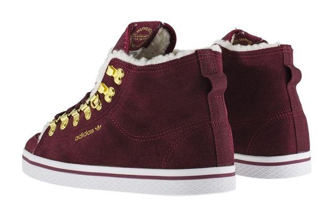 Adidas Originals Honey Hook Burgundy Heel