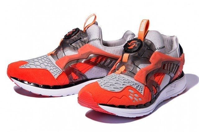 Puma Disc Blaze Ltwt Web Orange Pair 1 640X4261