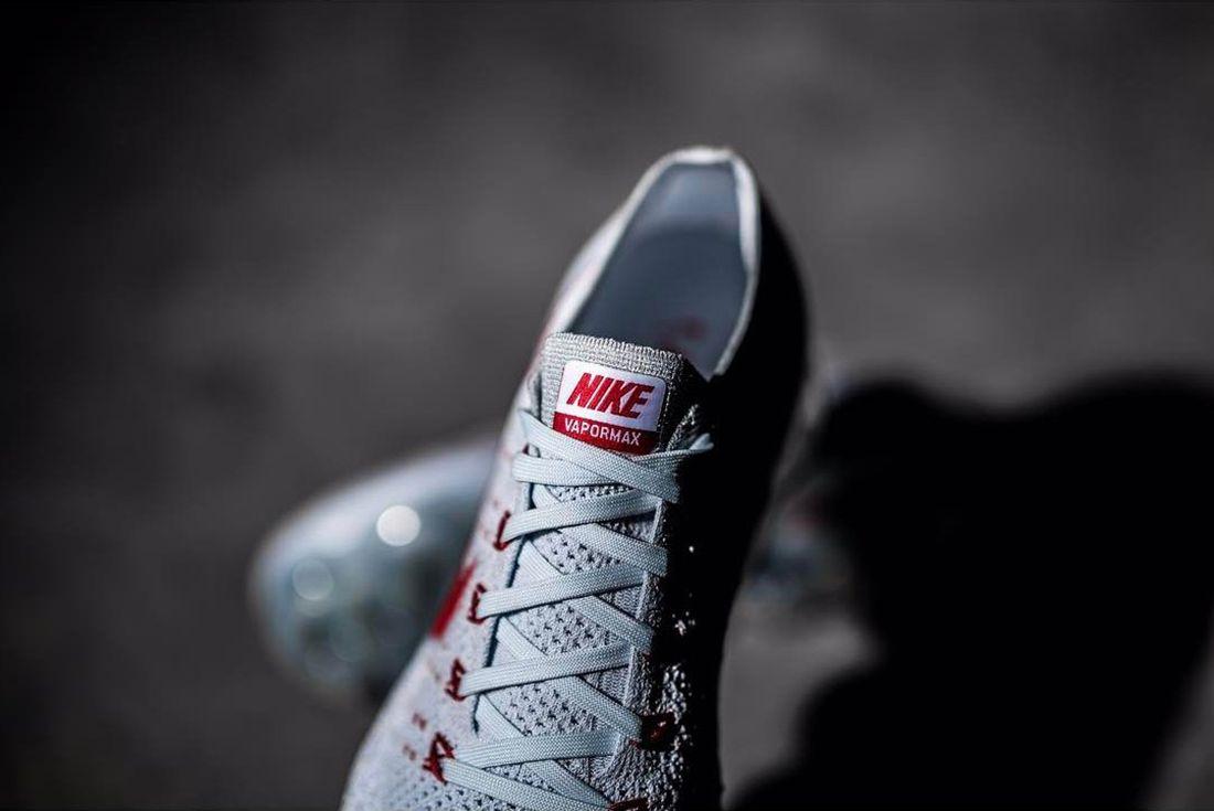 Nike Vapormax University Redgrey 2