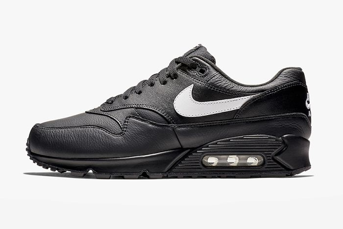 Nike Air Max 90 1 Black Leather 1