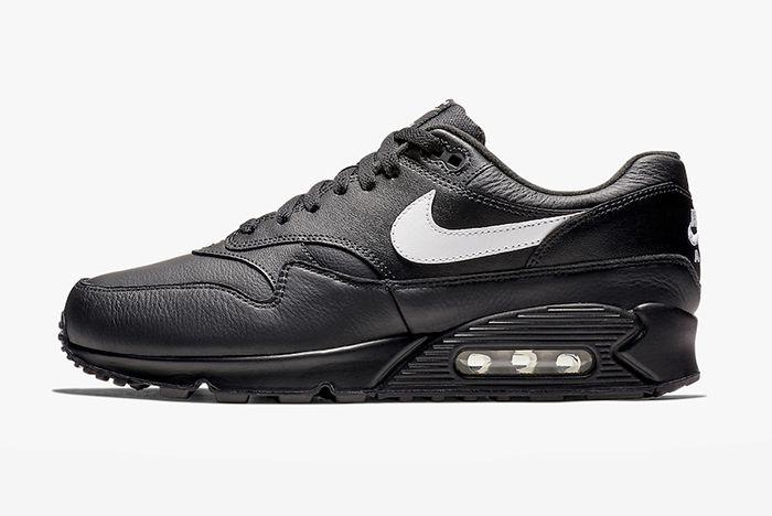Nike Air Max 90 1 Black Leather 1