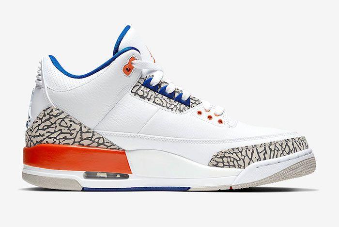 Air Jordan 3 Knicks 136064 148 2019 Release Date Price 2 Side