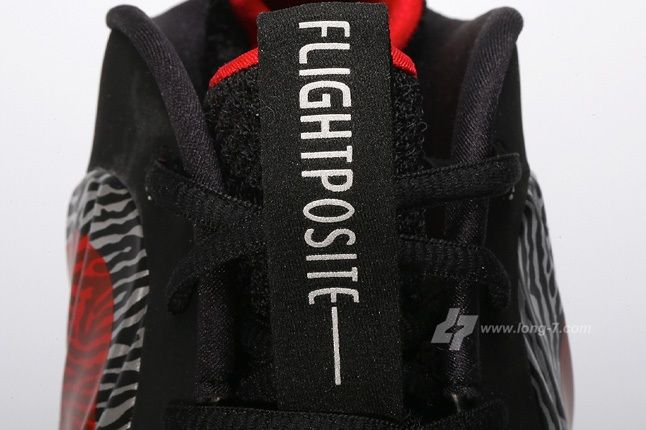 Nike Flightposite Exposed Zebra Tongue Detail 1
