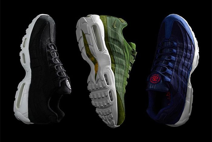 Stussy X Nike Air Max 95 All Front Full