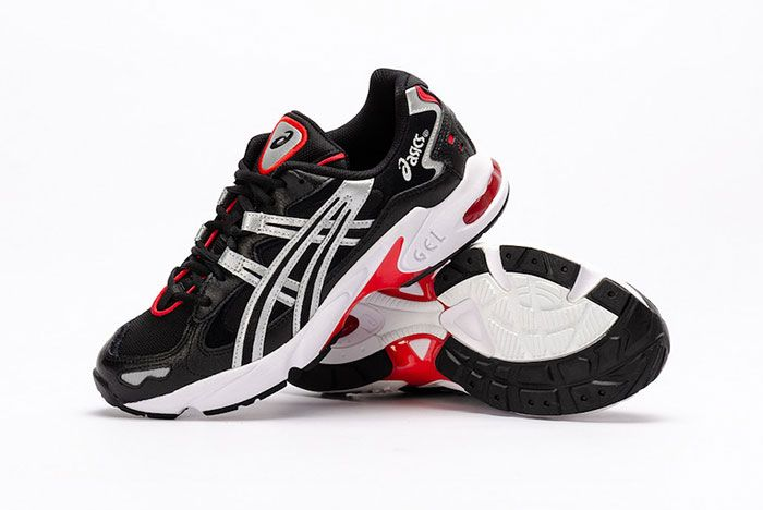 Asics Gel Kayano 5 Og Black Metallic Red Styled