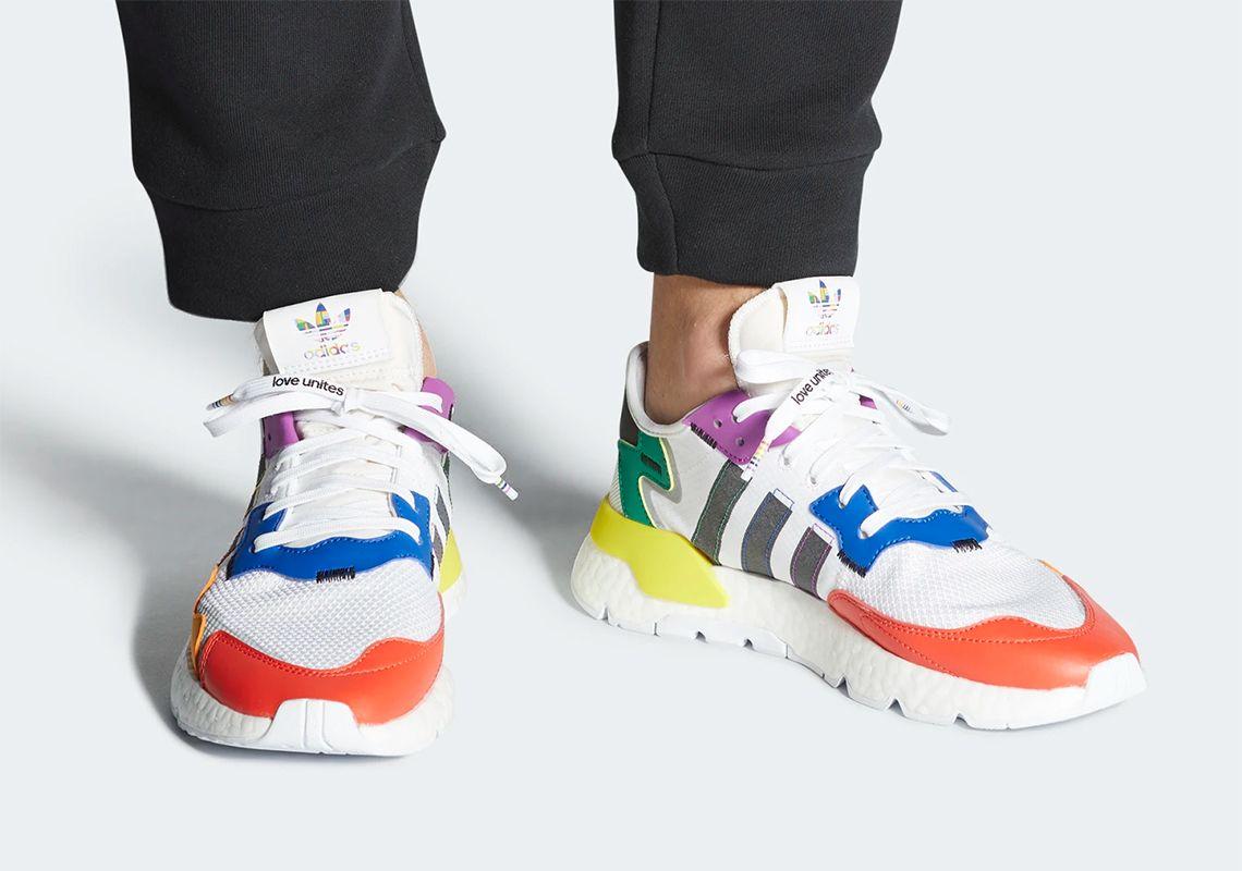 adidas Nite Jogger Pride On Foot