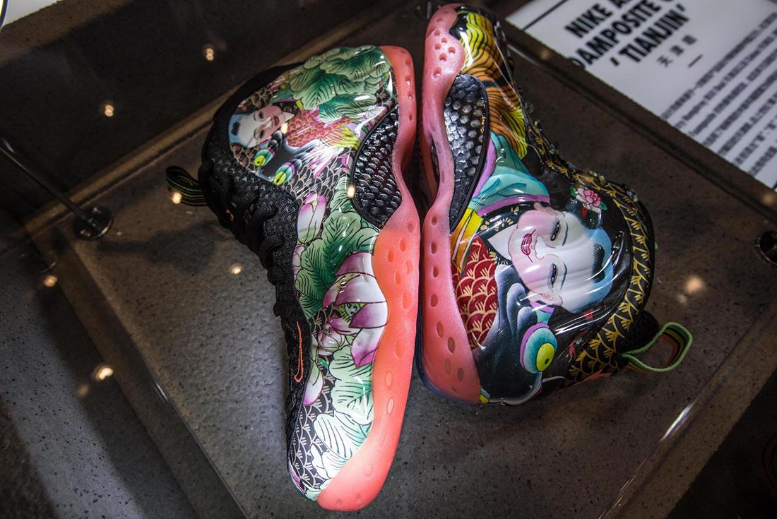 Nike Foamposite Retrospective Exhibition Hits Shanghai13