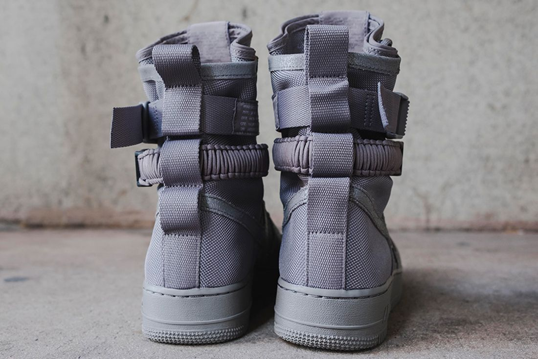 Nike Sf Air Force 1 Grey 6