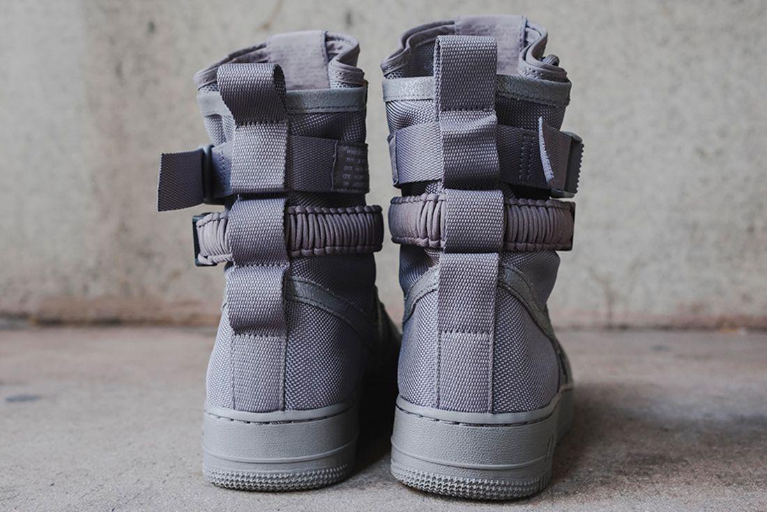 Nike Sf Air Force 1 Grey 6