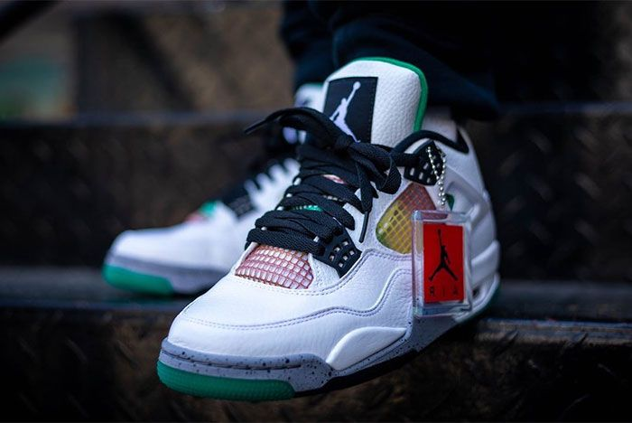Air Jordan 4 Rasta Wmns Front