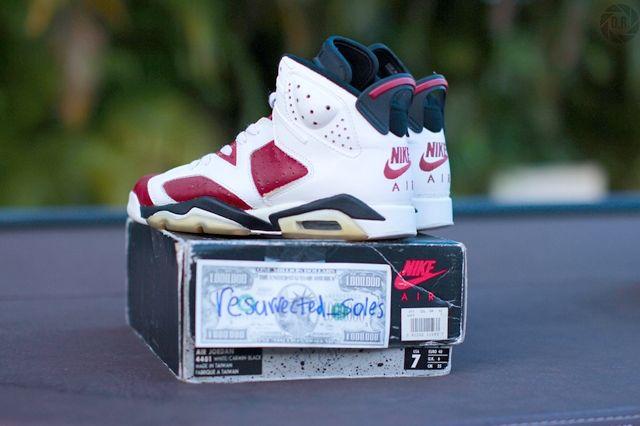 Og Air Jordan 6 Swapped Soles 12
