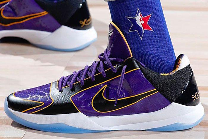 Nike Kobe 5 Protro Lakers Left