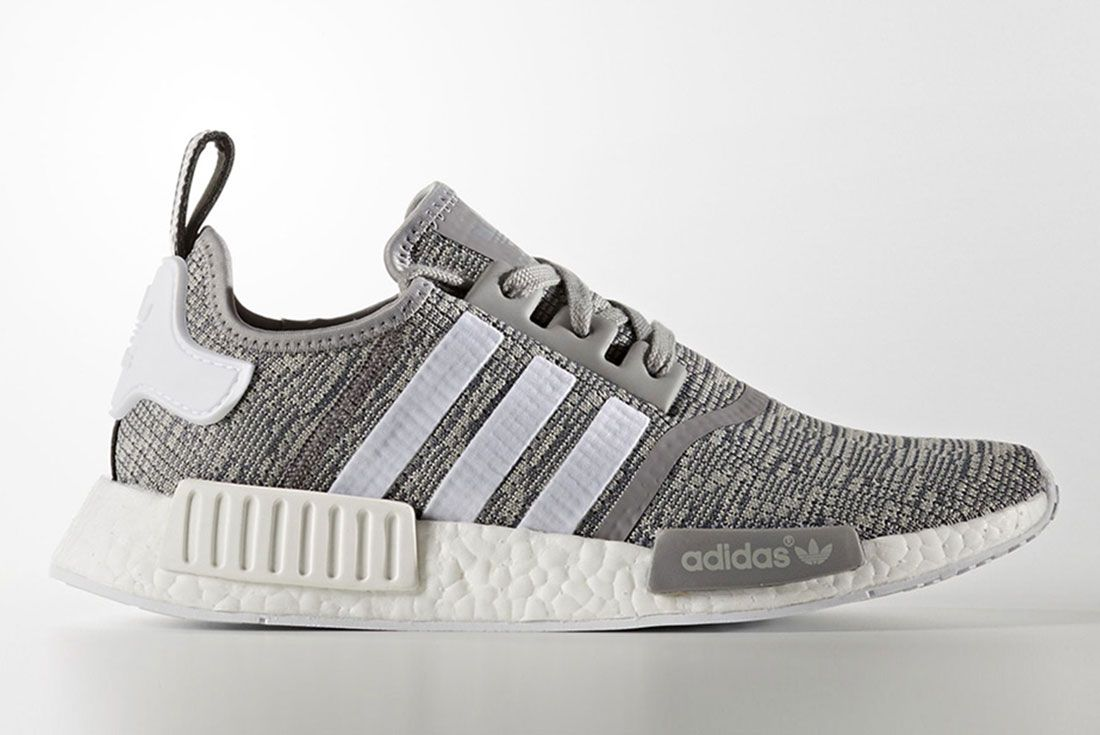 Adidas Nmd R1 Grey Glitch Pack R3