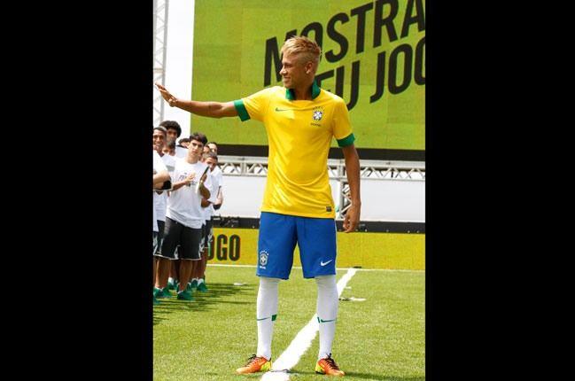 Nike Football Brazil Home Jersey Neymar The Man 1