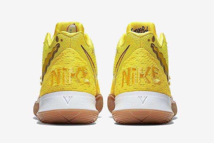 Nike Kyrie 5 Spongebob Patrick Star Heel