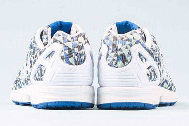 Adidas Zx Flux Weave Ocean Blue 4