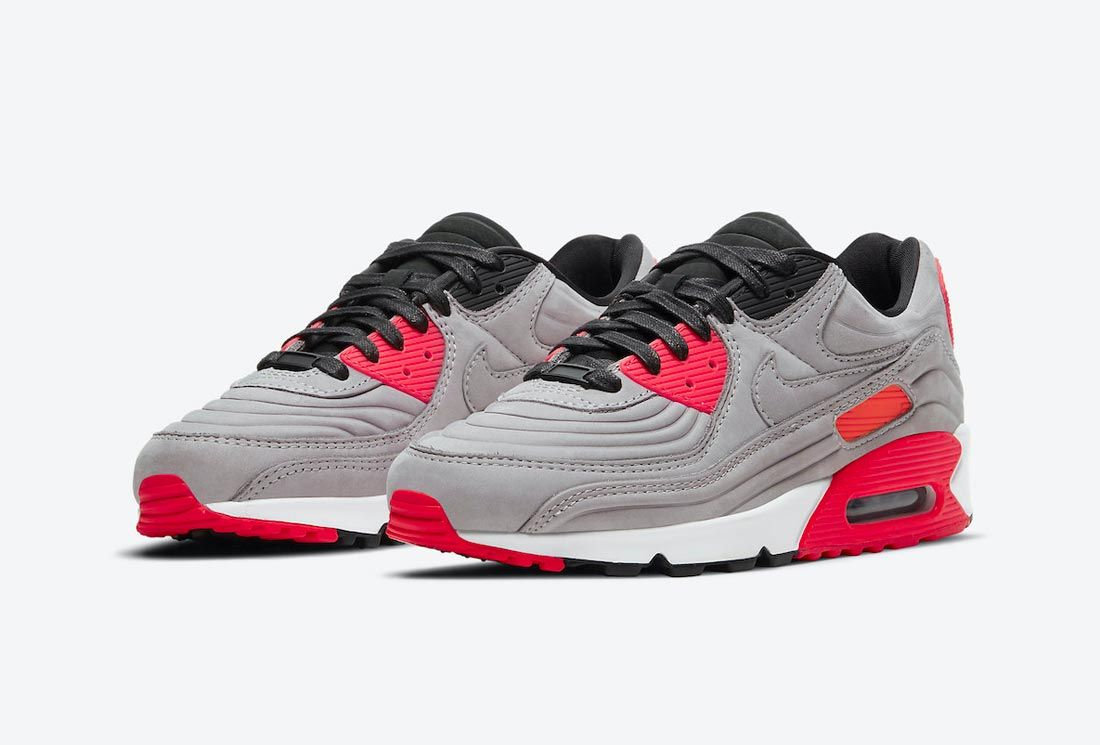 Nike Air Max 90 Night Silver/Bright Crimson