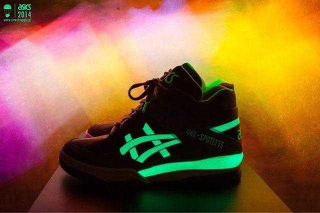 Glow In The Dark Asics
