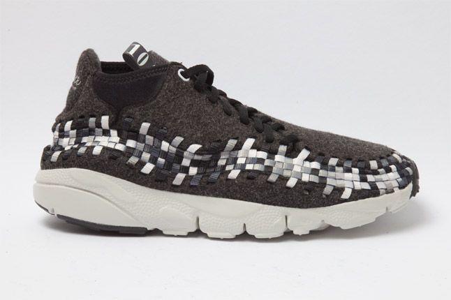 Nike Air Woven Footscape Chukka Black Side 1
