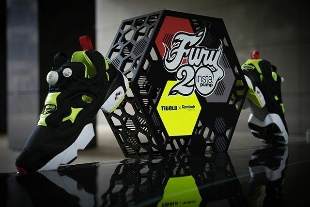 Titolo X Reebok Pump Fury 20 Th Anniversary