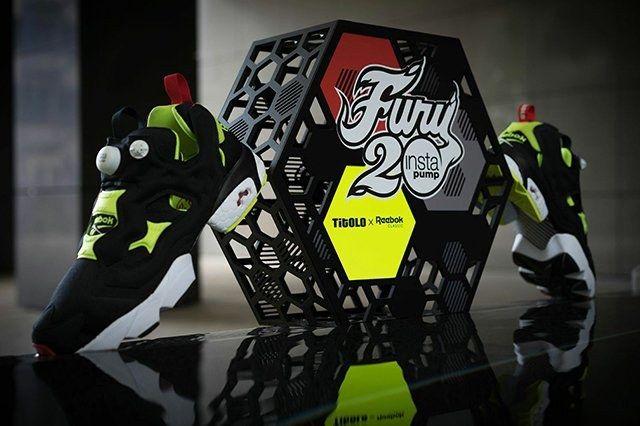 Titolo X Reebok Pump Fury 20 Th Anniversary
