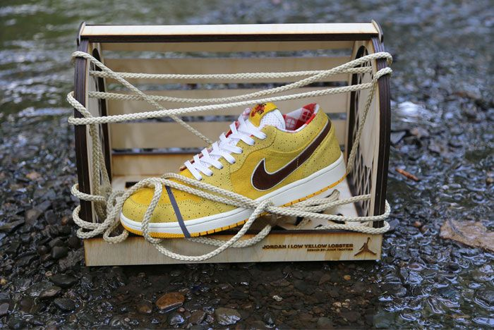 Air Jordan 1 Low Yellow Lobster