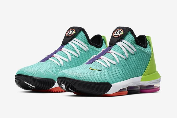 Nike Lebron 16 Hyper Jade Pair