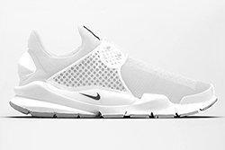 Nike Sock Dart White1 Thumb