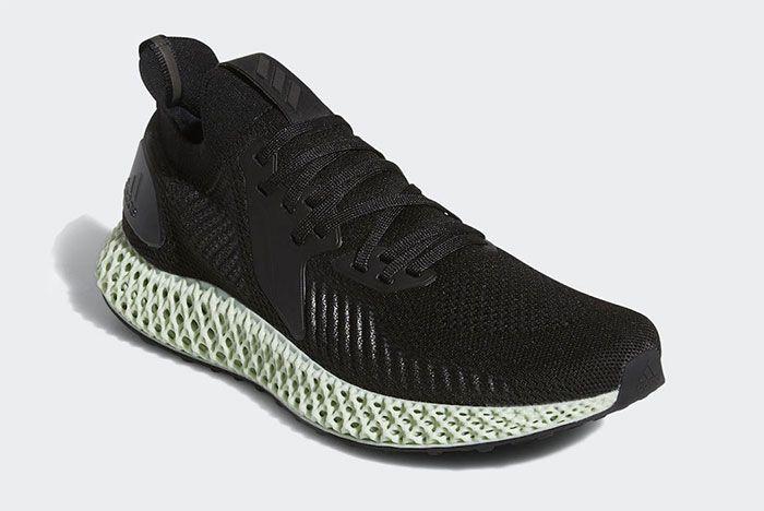 Adidas Alphaedge 4 D Black Quarter