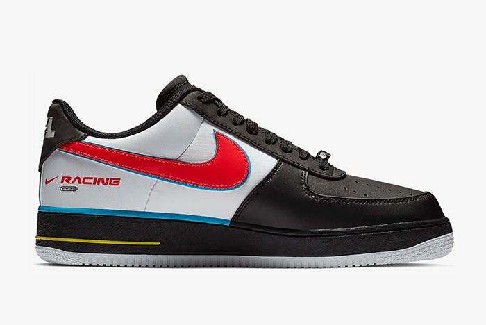 Nike Air Force 1 Racing Ah8462 004 Right Side Shot
