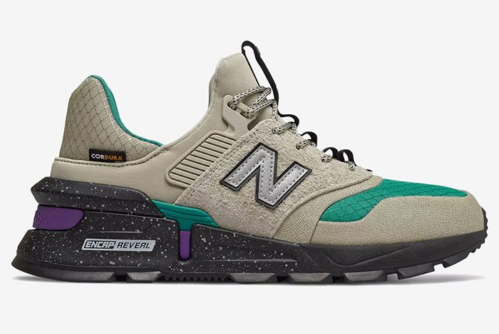 New Balance 997S Rock Grey Green Release Info 1 Side