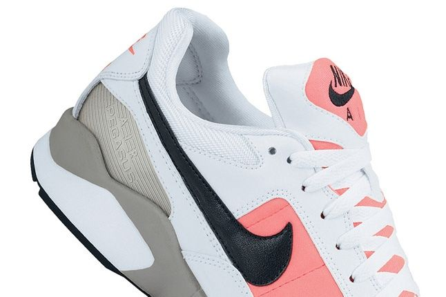 Nike Air Pegasus 92 Red Heel Detail 1