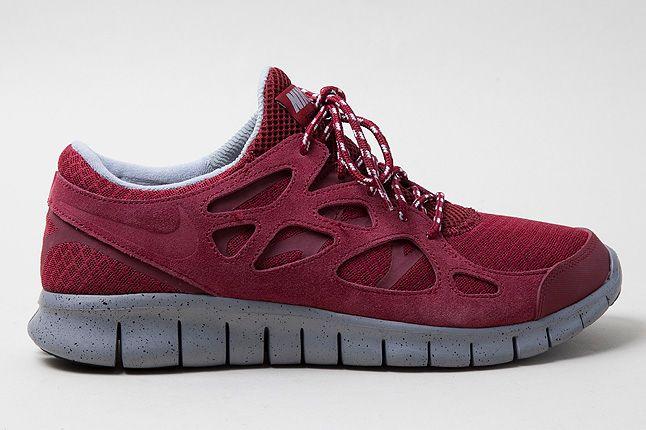 Nike Free Run2 Red Profile Shot 1 1