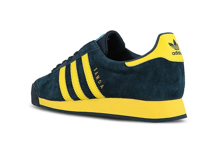 Adidas Samoa Vintage Svenska Blue Yellow 3