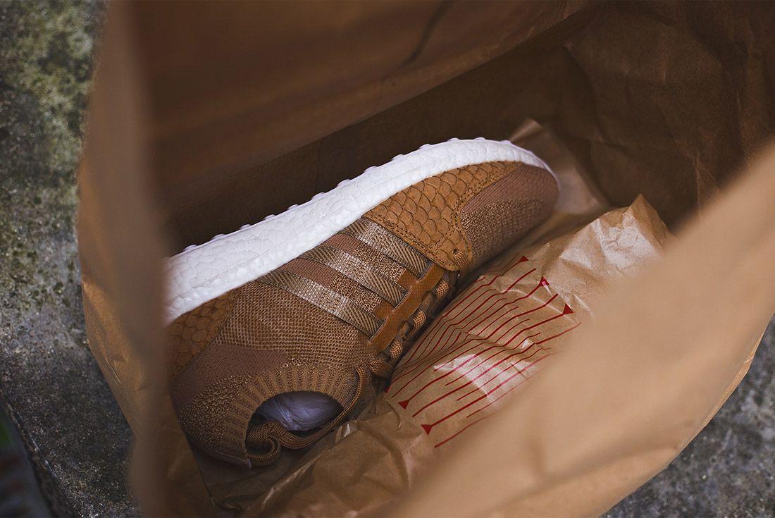 Adidas Eqt Pusha T Fishscale Brown Paper Bag 6