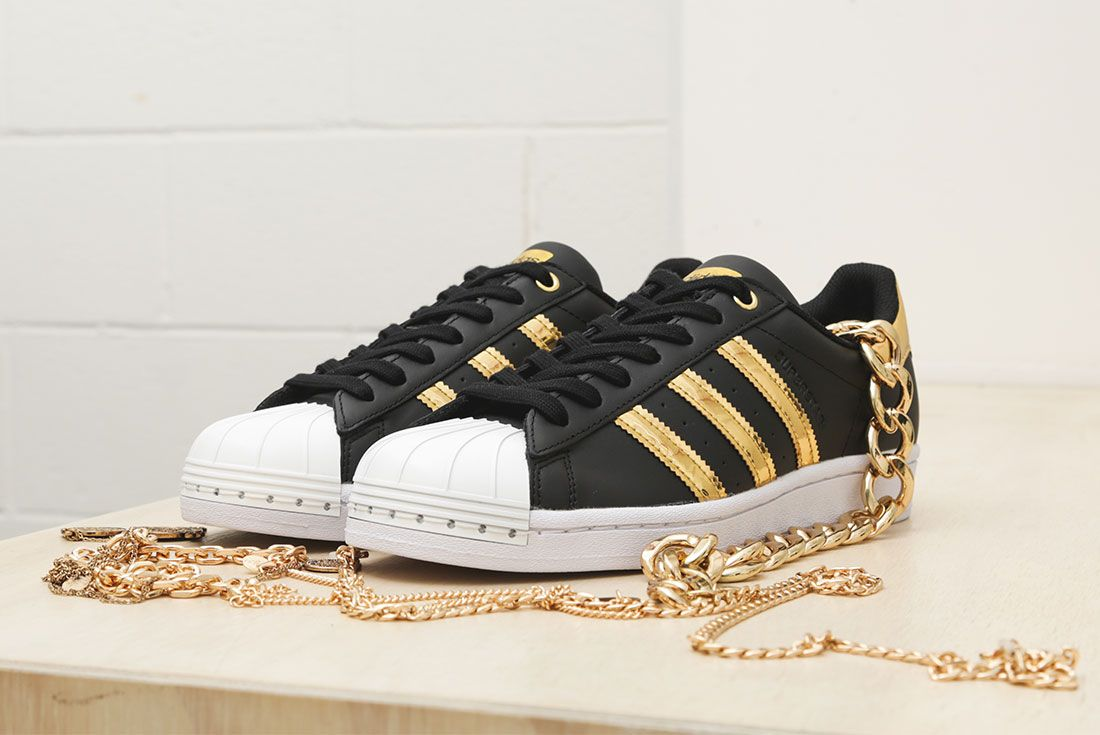 Adidas Metallic Gold Pack Superstar 50Th Anniversary Jd Sports Exclusive Hero9