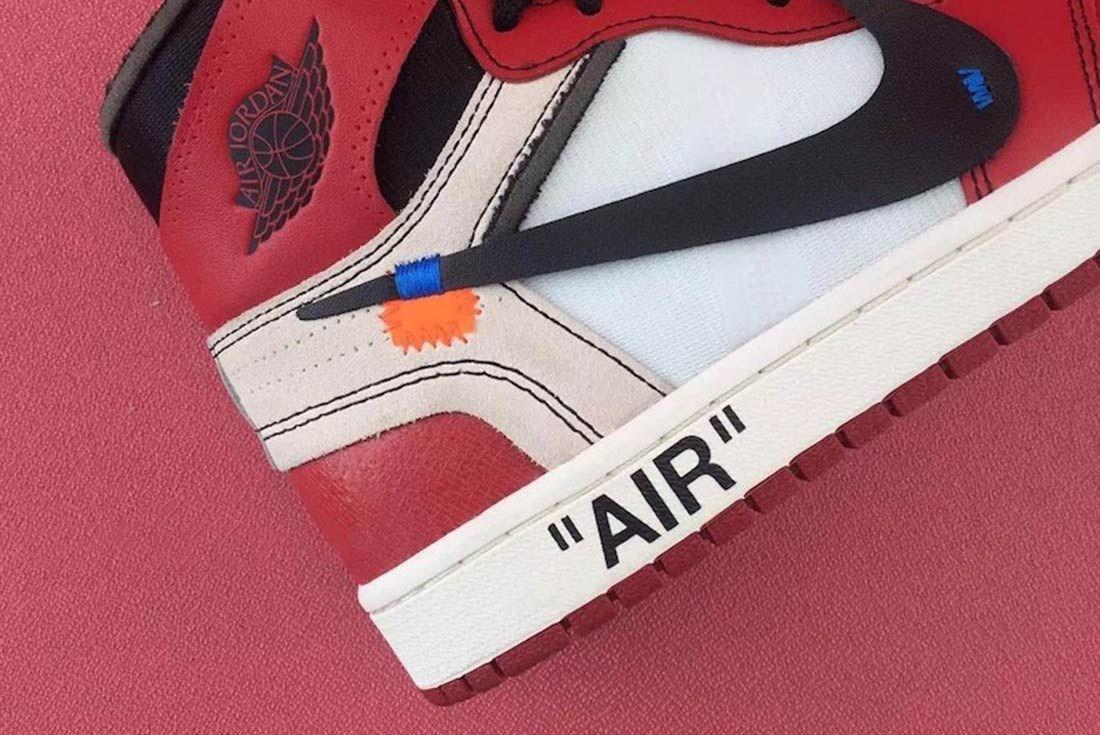 Off White X Air Jordan 1 5