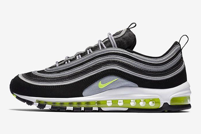 Nike Air Max 97 Og Black Neon Yellow 6