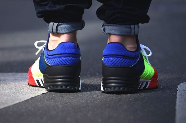 Adidas Eqt Support 93 Colour Blocking 1