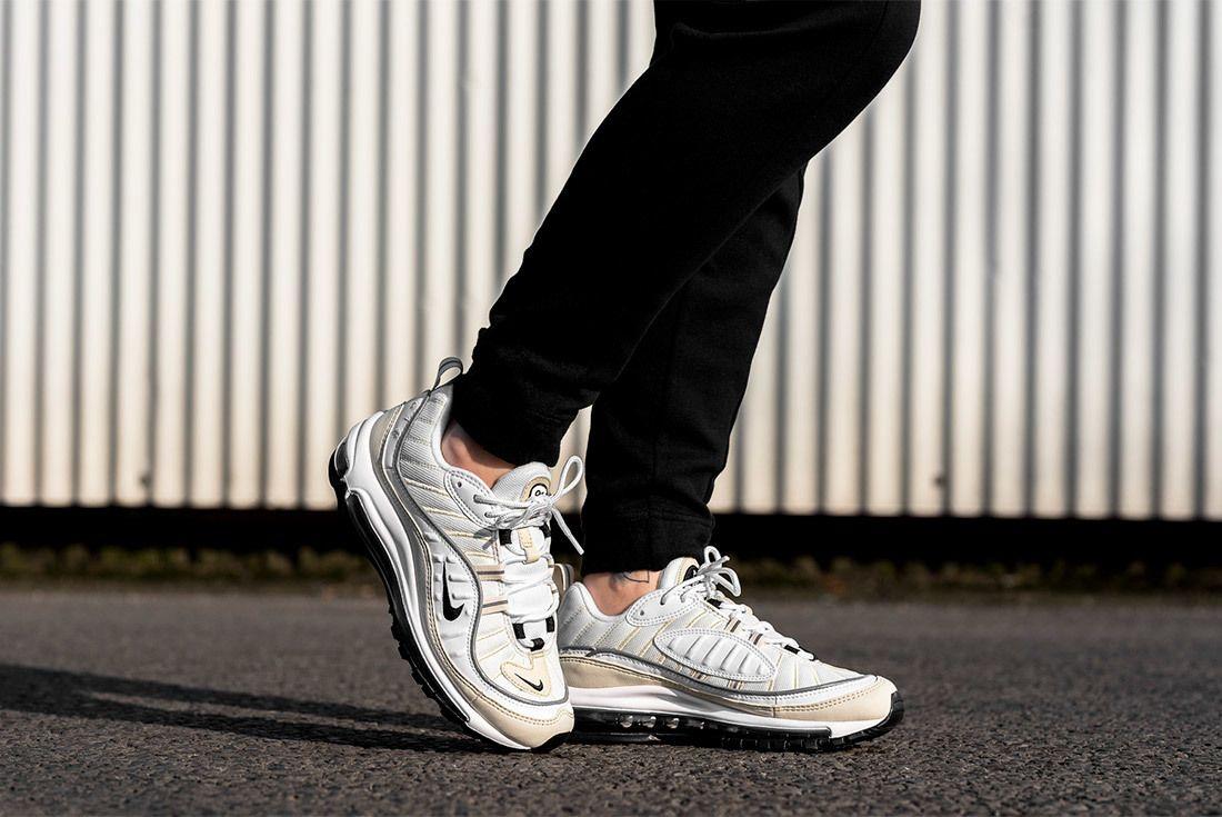 Nike Air Max 98 Sail White 5
